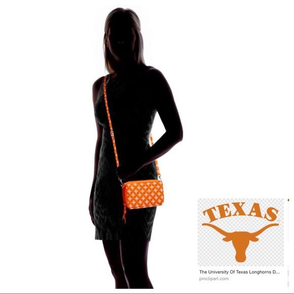 Vera Bradley Handbags - 🆕VB University of Texas RFID All In One Longhorns